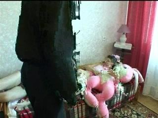 Русская семейка устроила секс втроем  для возбуждения!
